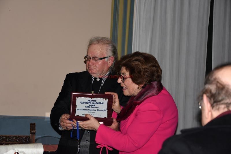 Premiazione Calogero101