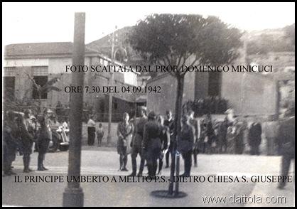 4-9-1942 PRINC UMBERTO A MELITO ORE 730 2