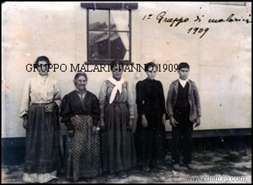 BAGALADI 1° GRUPPO DI MALARICI 1909 buona copia