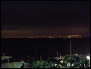 Immagine 020 SICILIA VISTA DA MELITO DI NOTTE
