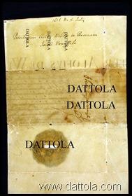 MARCHIATO DATTOLA IMG_9799 pergamena 15 luglio 1615 Privilegio Civitis Melita in Personam Jacobi Vannufele copia