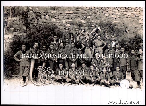 banda musicale melito periodo guerra