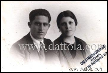 Carmelo Nipote e Luisa Curatola