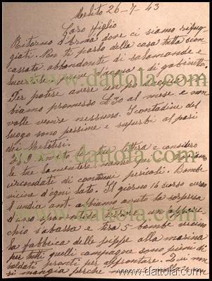 LETTERA NONNA DOMENICA DEL 26-7-43 AL FIGLIO copy