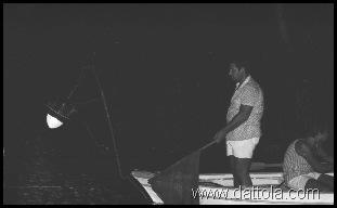 DANIELE E ANTONELLO A PESCA CON LAMPARA