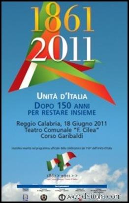 LOGO CONVEGNO 1861 2011 UNITA' D'ITALIA
