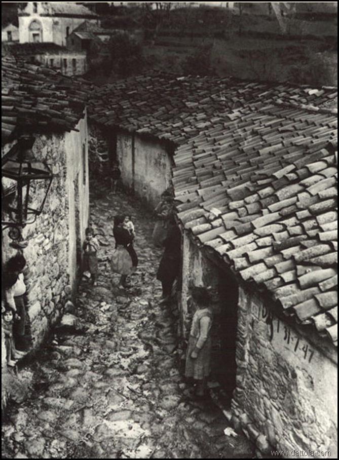 AFRICO STRADA CON DONNE 1948 PETRELLI