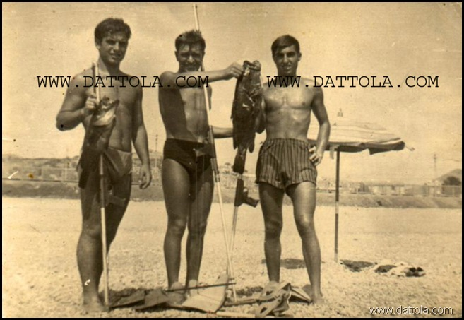 PINO CAMPOLO, GIUSEPPE DATTOLA, GIIUSEPPE GORI 4 AGOSTO 1962 SECCA MARINA_800x550 copy