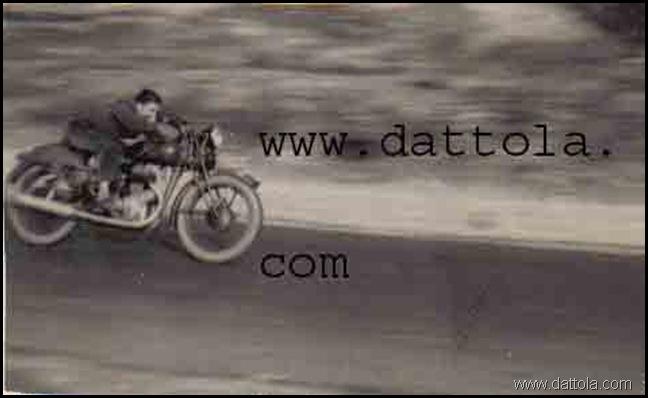 anno 1954 alla guida ad alta velocità marcata