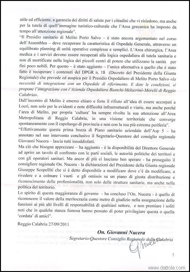 2 LETTERA G. NUCERA PER OSPEDALE