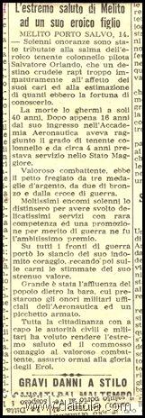 articolo da il giornale d'Italia DEL 20 MARZO 55