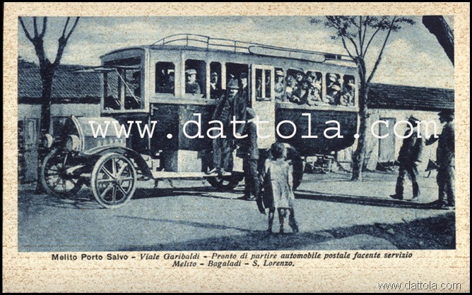 AUTOMOBILE POSTALE MEL BAGAL S LORENZO copy