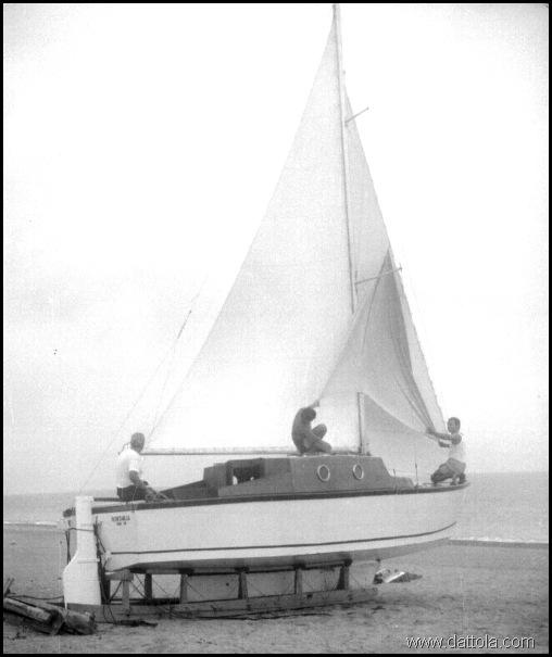 ALBATROS 4 si provano le vele