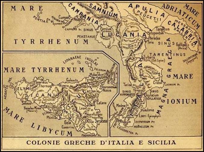 coloni greche d'italia