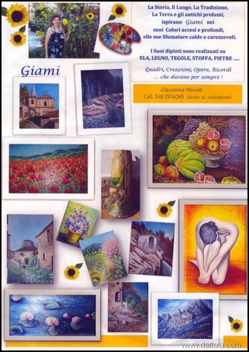 MINNITI GIACOMINA GIOVANNA E I SUOI LAVORI_422x600