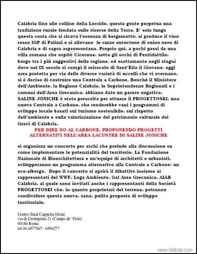 INIZIATIVA NO CARBONE 2