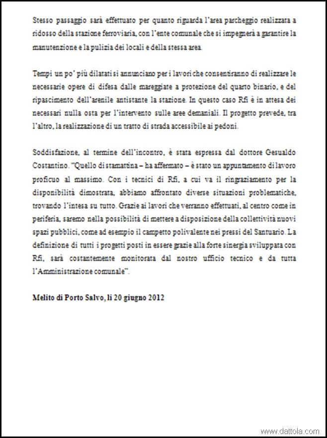 comunicato stampa 2