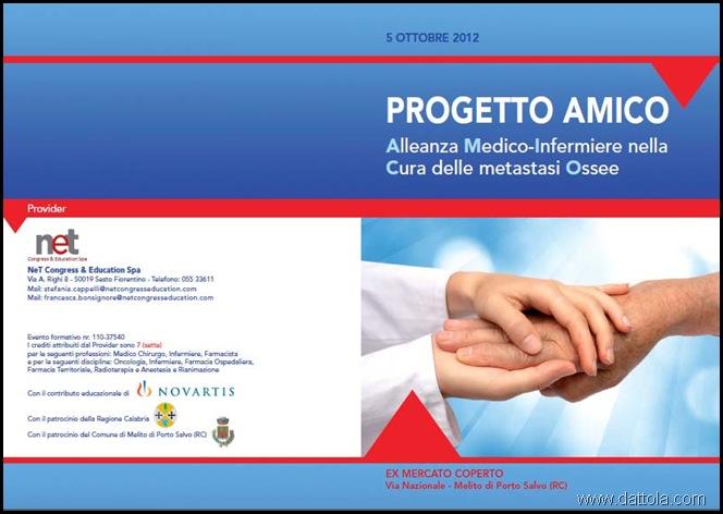 PROGETTO AMICO CONVEGNO ONCOLOGICO 1