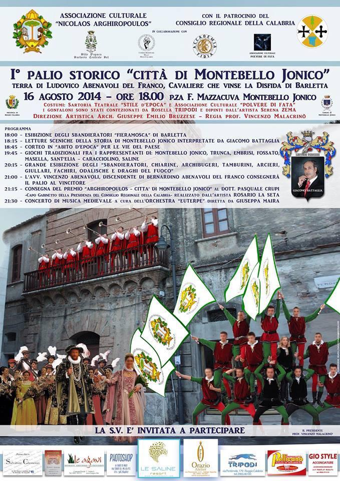 1° palio storico città di Montebello