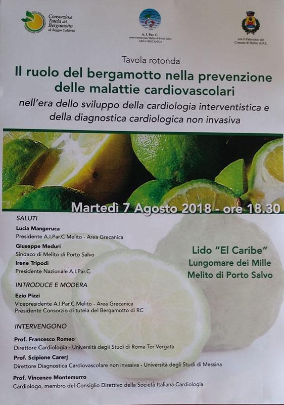 Ridotta f locandina bergamotto