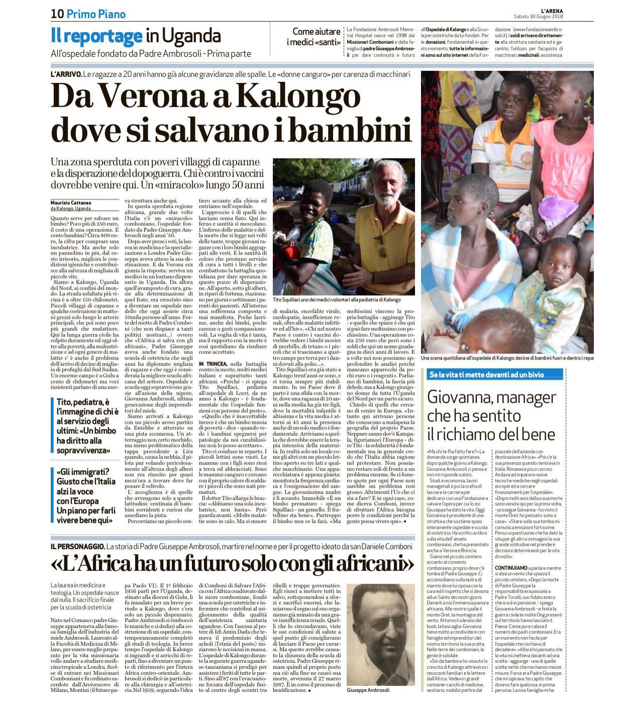 da Verona a Kaslongo Tito