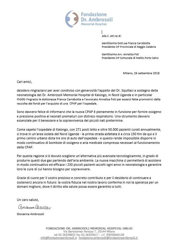 Lettera Ambrosoli